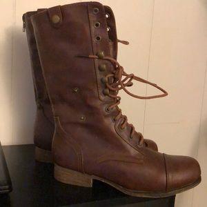 BAMBOO combat boots